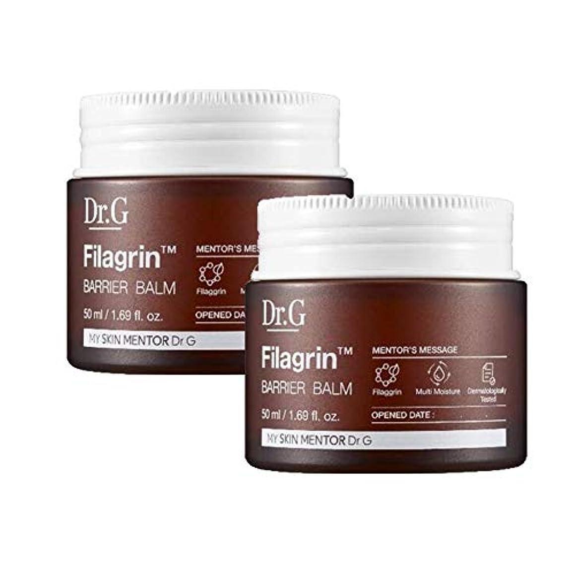 効能ある神秘入札ドクターGピラーグリーンバリアBalm 50mlx2本セット お肌の保湿 韓国コスメ、Dr.G Filagrin Barrier Balm 50ml x 2ea Set Korean Cosmetics [並行輸入品]