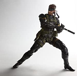 METAL GEAR SOLID PEACE WALKER PLAY ARTS改 SNAKE Sneaking Suit Ver.(PVC塗装済みアクションフィギュア)