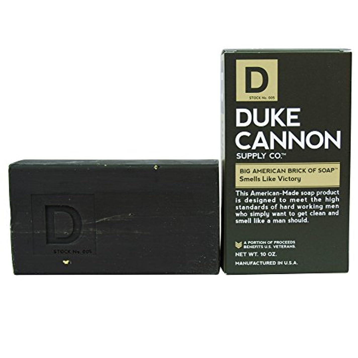 漂流締める一杯Duke Cannon Superior Grade Bar Soap, Army Green, Victory, Clean and Fresh Scent, 10 Ounce by Duke Cannon Supply...