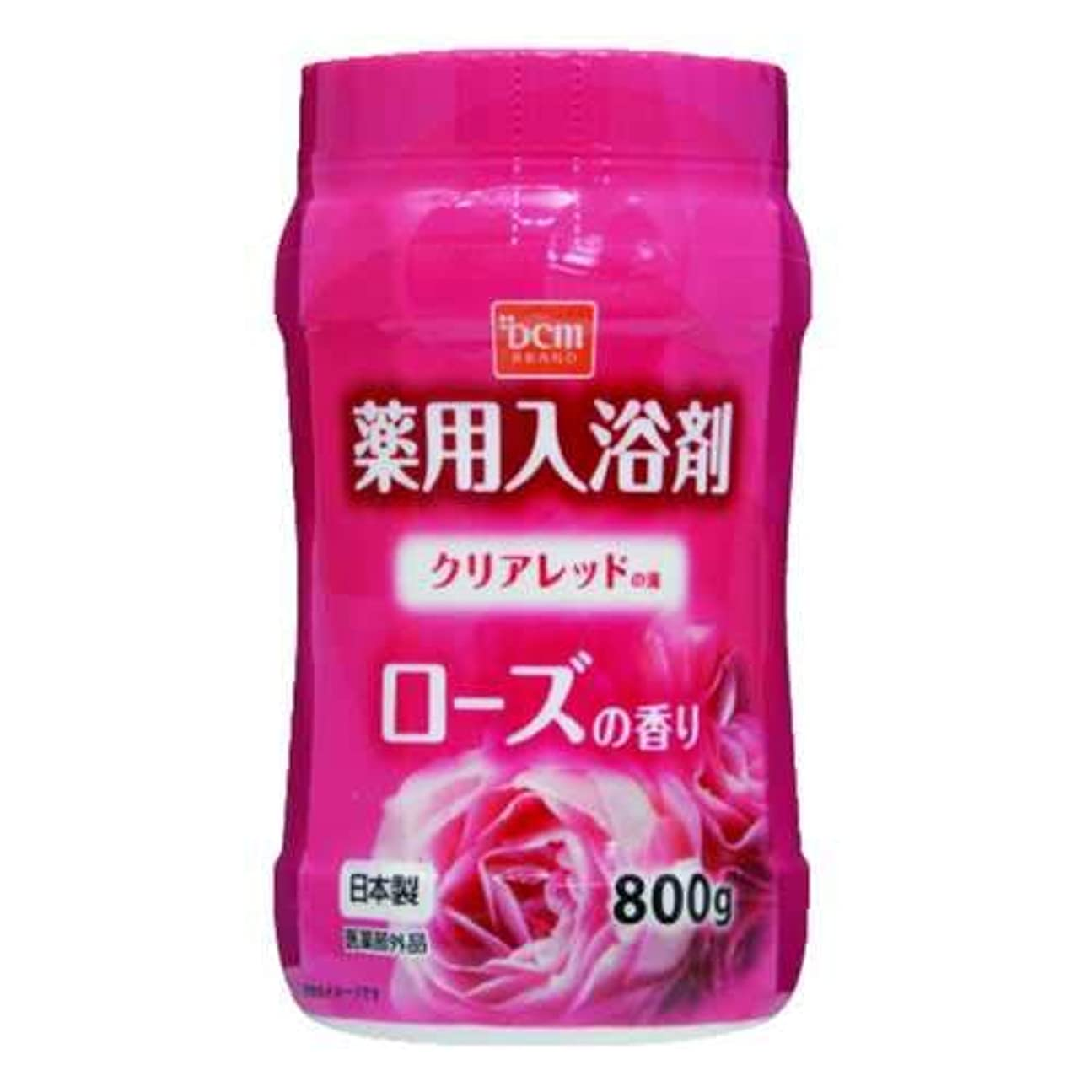シンカン寄生虫免除するDCM薬用入浴剤 ローズ 800G