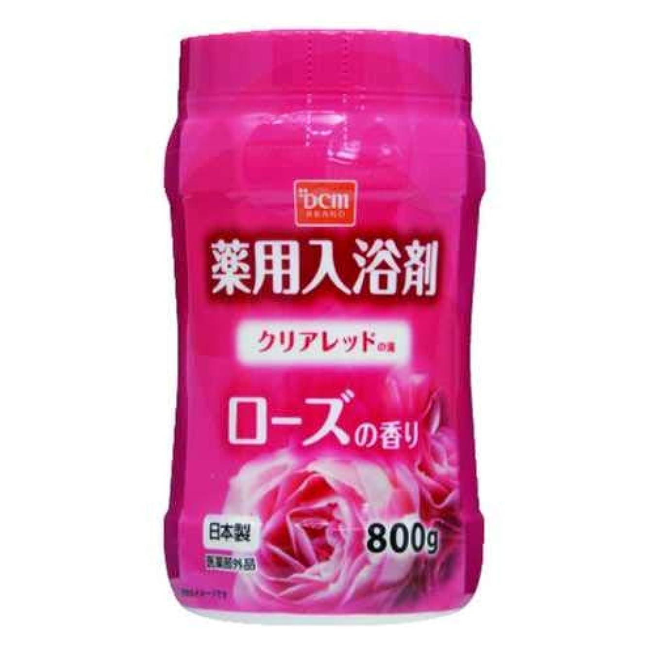 参照承認蚊DCM薬用入浴剤 ローズ 800G