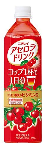 【Pick up!】 ニチレイ アセロラドリンク 900ml×12本
