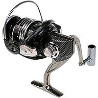 Dovewill 金属製 耐久性  12 + 1ベアリング  ギア比5.2:1   スピニング釣りリール  海釣り適用  全3サイズ
