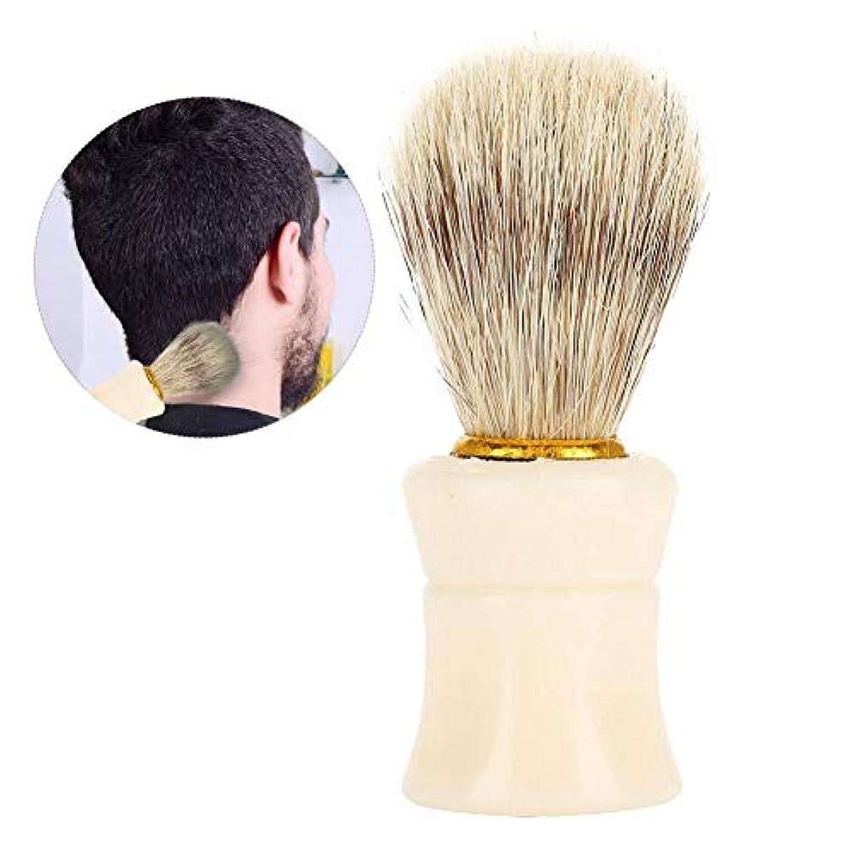 ショット固有の強調Semme理髪師クリーニングヘアブラシヘアスイープブラシ、プロフェッショナルネックダスターブラシ理髪師理髪クリーニングヘアブラシ