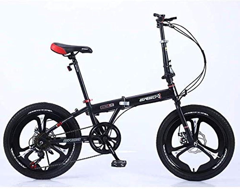 限界先生湖推奨されるスポーツアウトドアフリースタイルキッズバイク折りたたみ自転車子供軽量成人用自転車超軽量ポータブル学生用自転車可変速度ホイール16インチ高さ120cm-160cmに最適