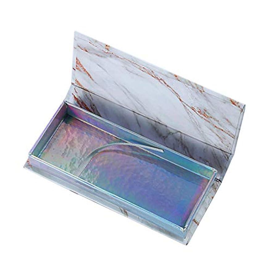 ビジュアル有効堤防空のつけまつげケア収納ケースボックスコンテナホルダーコンパートメントツール