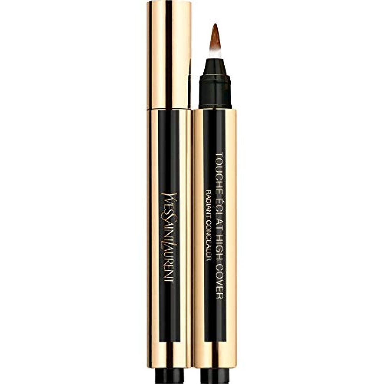 快適アリ野心的[Yves Saint Laurent] 9 2.5ミリリットルイヴ?サンローランのトウシュエクラ高いカバー放射コンシーラーペン - エスプレッソ - Yves Saint Laurent Touche Eclat High Cover Radiant Concealer Pen 2.5ml 9 - Expresso [並行輸入品]