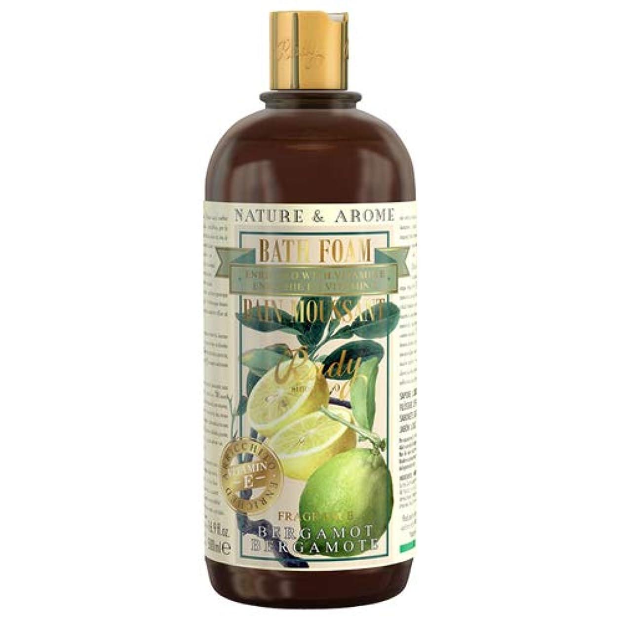 ストッキングモンク不毛のRUDY Nature&Arome Apothecary ネイチャーアロマ アポセカリー Bath & Shower Gel バス&シャワージェル Bergamot ベルガモット