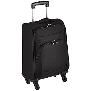 [ジェットエージ] スーツケース ソフトキャリー S 軽量 機内持込可 23L 55cm 2.1kg 74-50711 ブラック ブラック