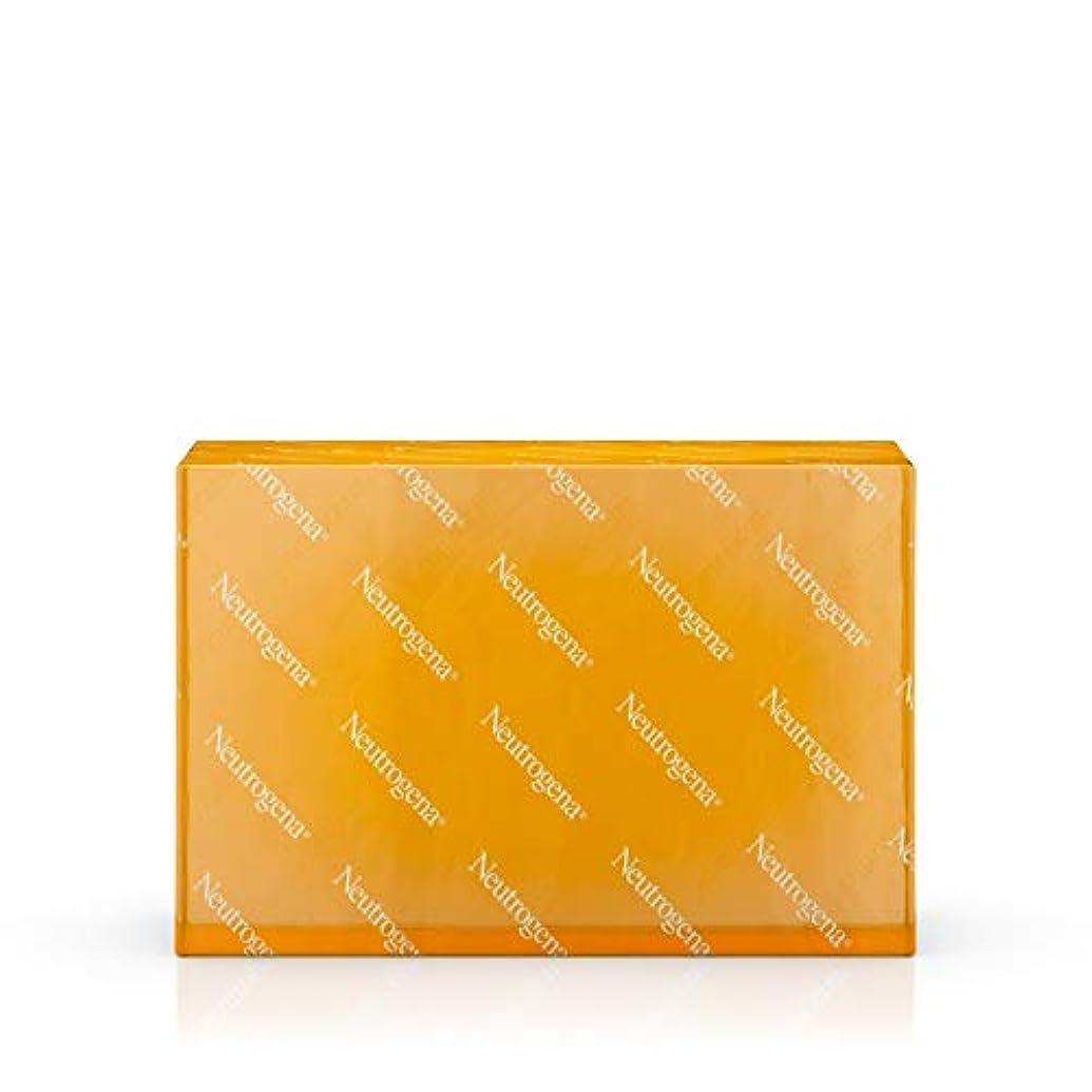 海外直送品 Neutrogena Neutrogena Transparent Facial Bar Soap Fragrance Free, Fragrance Free 3.5 oz