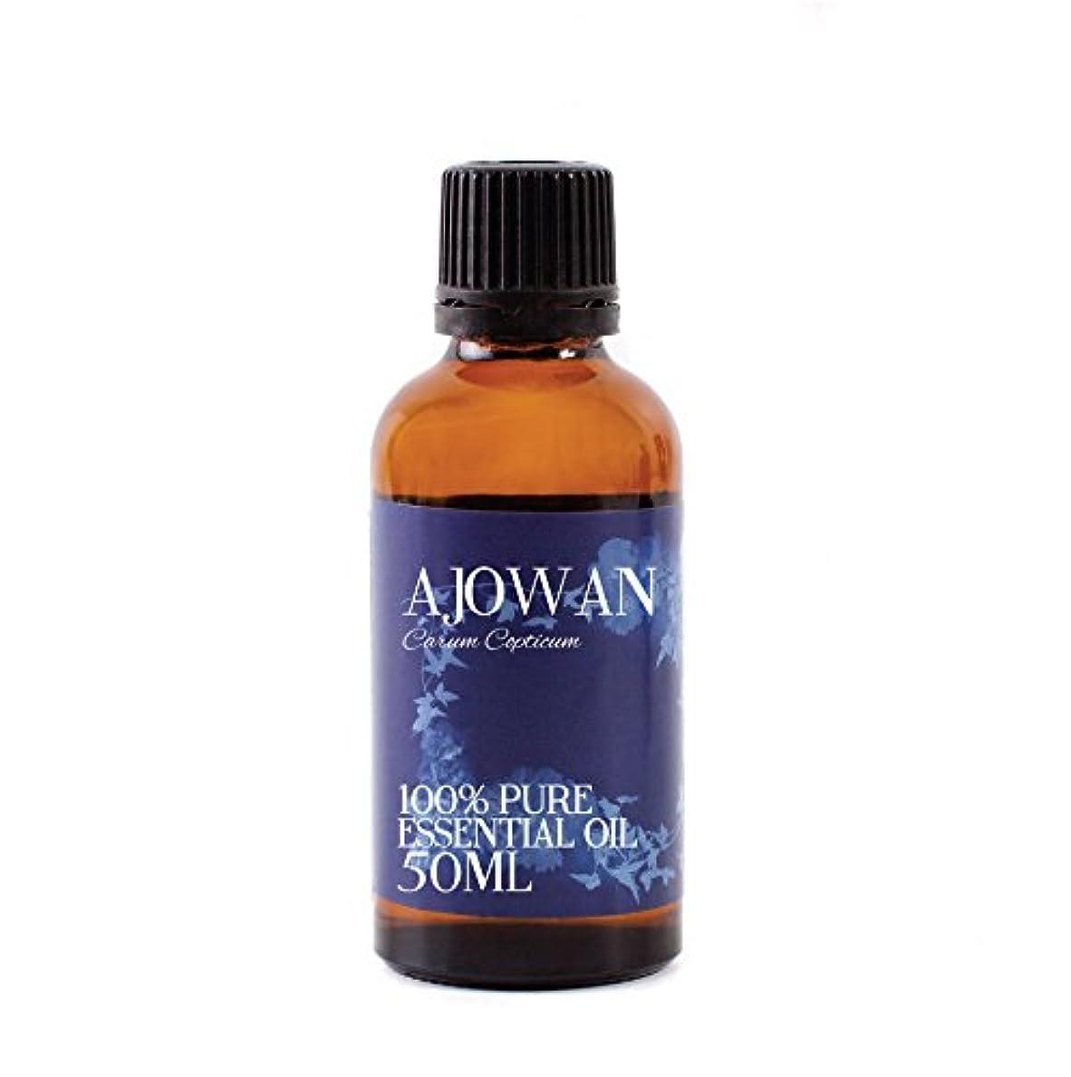 長方形誕生日詳細なMystic Moments | Ajowan Essential Oil - 50ml - 100% Pure