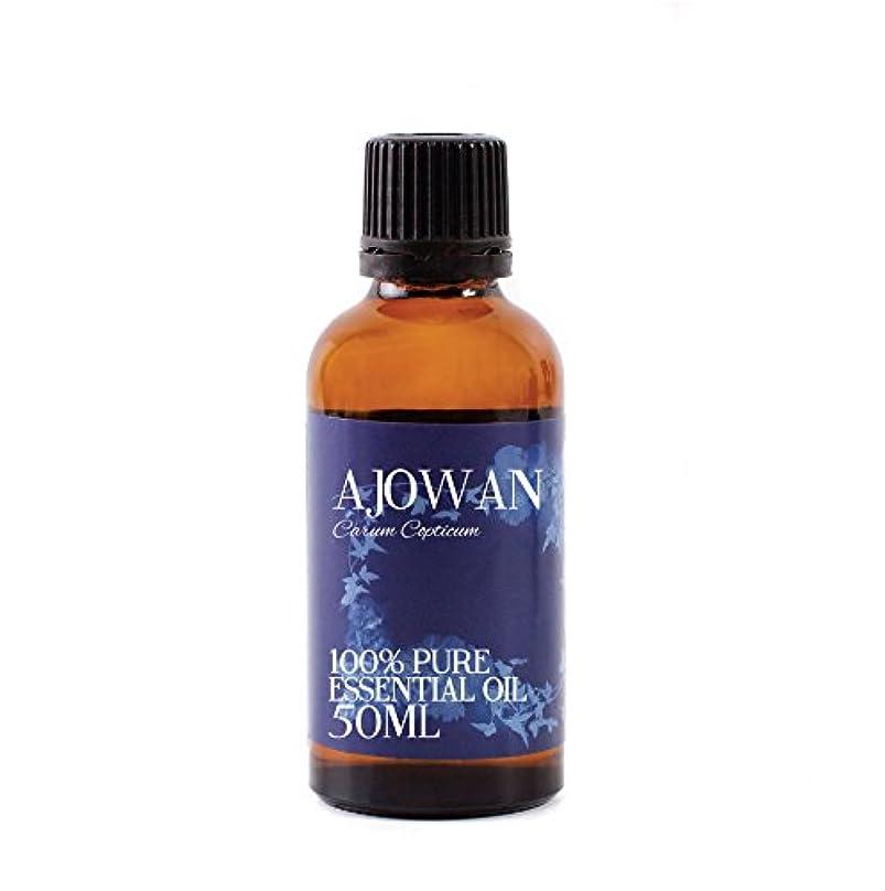 以来スーダン捕虜Mystic Moments   Ajowan Essential Oil - 50ml - 100% Pure