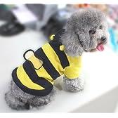 (ココ)COCO 雑貨 ハニー ビー みつばち マーチ ブンブン 蜂 の 犬 用 ペット スーツ パーティー 服