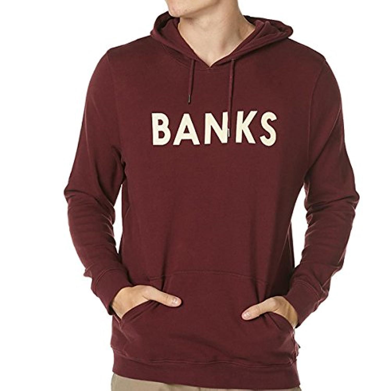 BANKS バンクス CLASSIC PULLOVER FLEECE スウェットパーカー プルオーバー コットン NYスタイル サーフ セレブ愛用 [並行輸入品]