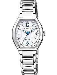 [シチズン]CITIZEN 腕時計 EXCEED エクシード エコ・ドライブ電波時計 ティタニアライン ハッピーフライトシリーズ ES9340-55W レディース