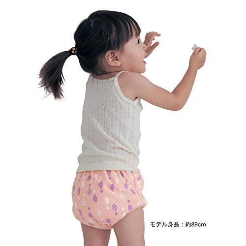 【こどものトイレトレーニングに】おねしょパンツ  ピンクしずく