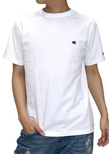 [チャンピオン] Tシャツ 無地 胸 ワンポイント ブランド ロゴ マーク 半袖 メンズ