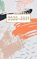"""2020-2021: 2 year calendar pocket monthly planner ( 5 x 8 """" small size ) : 24 month : January 2020 - December 2021 : time management / Schedule Organizer / Appointments"""