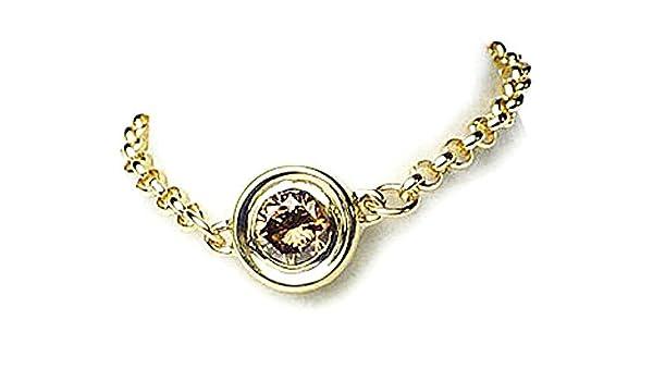 85a6c803d4b1 Amazon | J-Jewelry K18ゴールド ブラウンダイヤモンド チェーンリング シックな輝きのシンプルリング 10番 |  スタンダードリング 通販