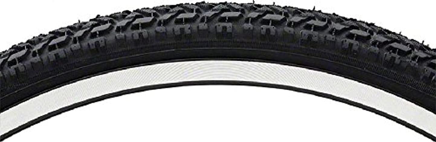 ゼリー報復筋Vee Rubber 26x1.75 Steel Bead Semi Knobby Tire BW by Vee Rubber
