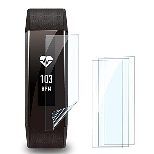 [해외]SHINEZONE 4 장 팩 HUAWEI Band 2 | Band 2 Pro 용 액정 보호 필름 기포 완화 고광택 유형 비 유리 필름인데 강화 유리 동등한 경도/SHINEZONE 4 pack HUAWEI Band 2 | Band 2 Pro LCD protection film for bubble reduction High gloss type Non-gl...