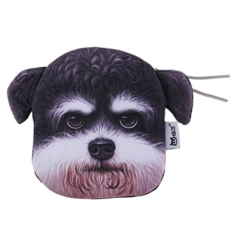 Perfeclan 全3タイプ カードホルダー コインバッグ 3D動物 ミニ財布 ポッチ 本物のよう 贈り物