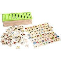 Perfk 分類箱 子ともおもちゃ ウッド玩具 教育 知育玩具