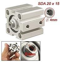 ステンレススチール、SDA 20ミリメートルボア15ミリメートルストロークミニエアーシリンダー