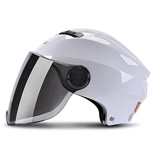 ヘルメット バイク用 原付 半帽 ジェット バッテリカー バ...