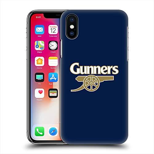 ARSENAL FOOTBALL CLUB アーセナルFC - Gunners Blue ハード case/iPhoneケース 【公式/オフィシャル】