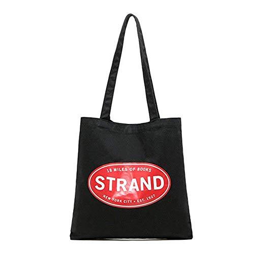 [(ストランド ブック ストア) Strand Book Store] [リユーザブル キャンバス トート エコ バッグ Canvas Tote Bag] (並行輸入品)