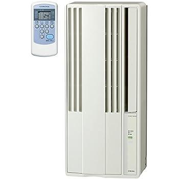 コロナ ウインドエアコン (冷房専用タイプ) 液晶リモコン付 シティホワイト CW-1818(W)