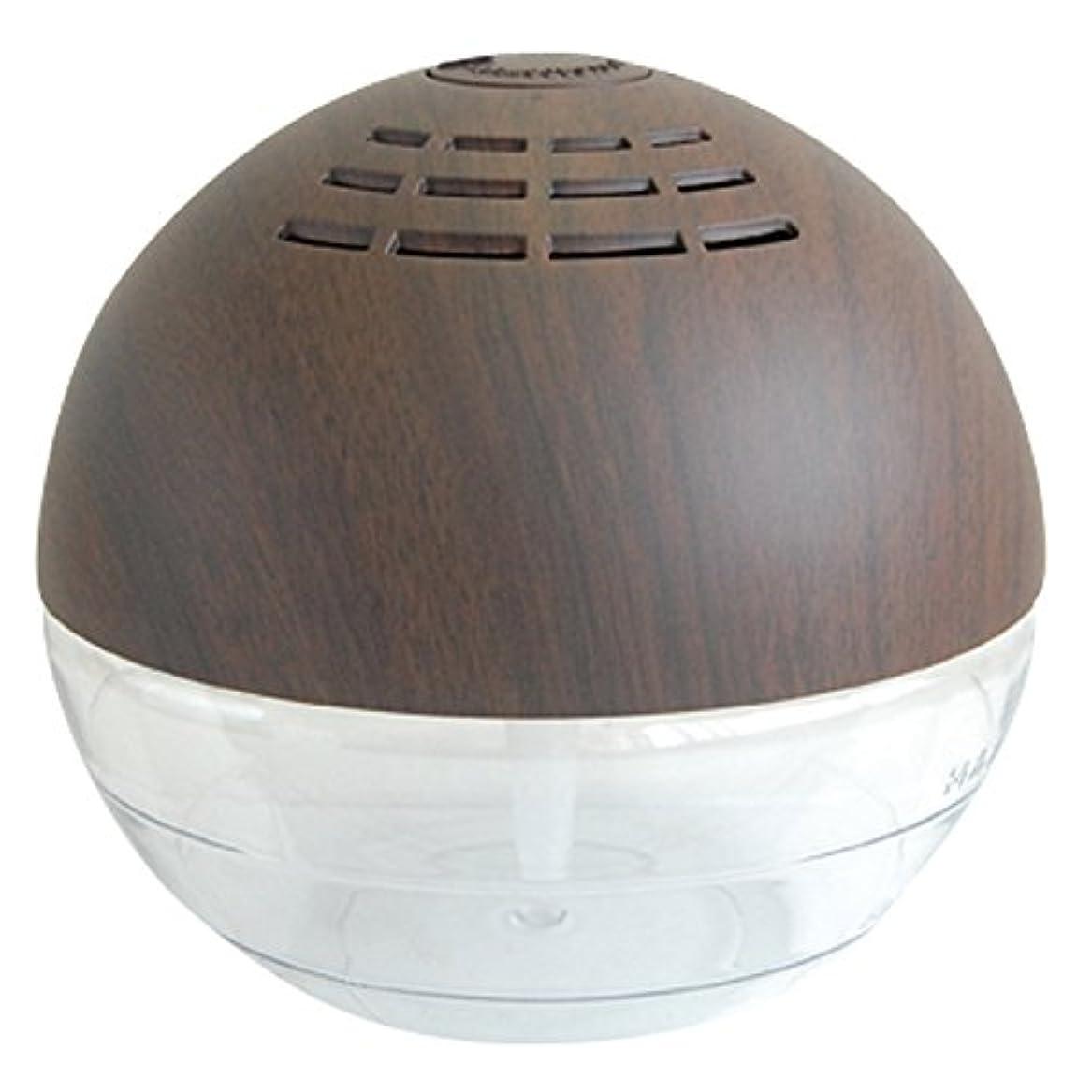 たくさんのボタン災難エアーフレッシュナ ウッディフィニッシュ マホガニー 空気清浄器 ナチュラル COCORO@modeウッドクラフト空気洗浄機