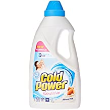 Cold Power Liquid Sensitive, Laundry Detergent, with Almond Milk, 1L