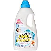 Cold Power Liquid Sensitive, Laundry Detergent, with Almond Milk, 1L