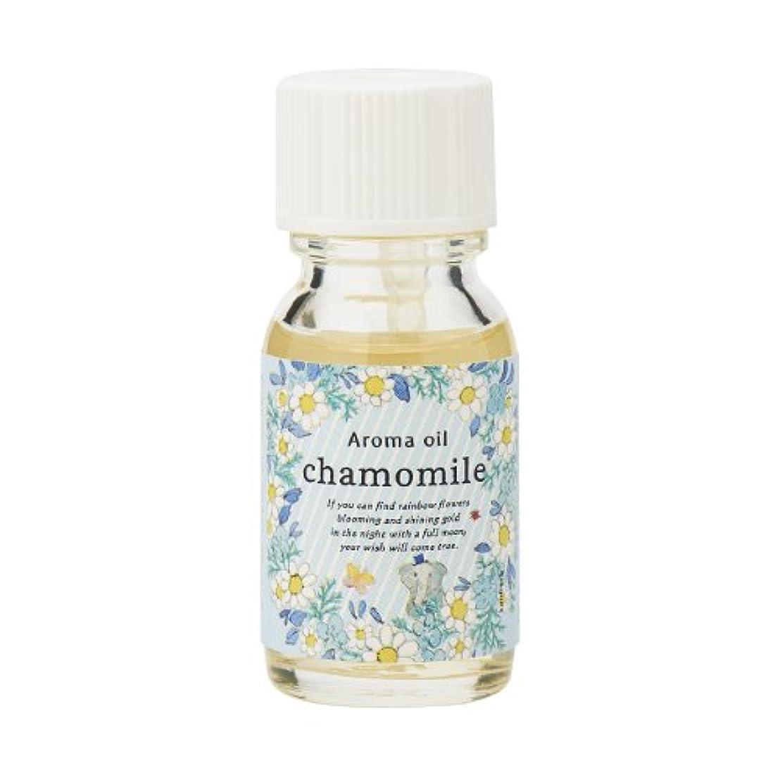 アデレード添付線サンハーブ アロマオイル カモマイル 13ml(やさしく穏やかな甘い香り)