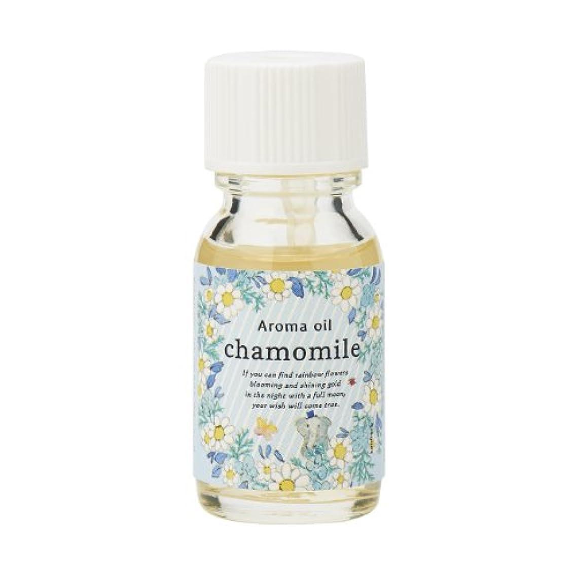 ホラーあごひげ険しいサンハーブ アロマオイル カモマイル 13ml(やさしく穏やかな甘い香り)