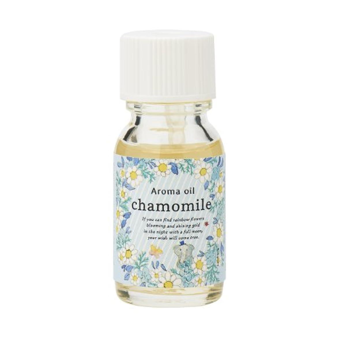 ボーナス定期的すみませんサンハーブ アロマオイル カモマイル 13ml(やさしく穏やかな甘い香り)