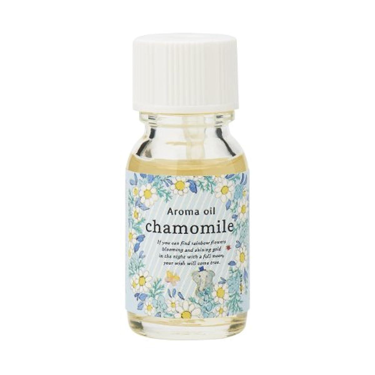 神話消化器数値サンハーブ アロマオイル カモマイル 13ml(やさしく穏やかな甘い香り)