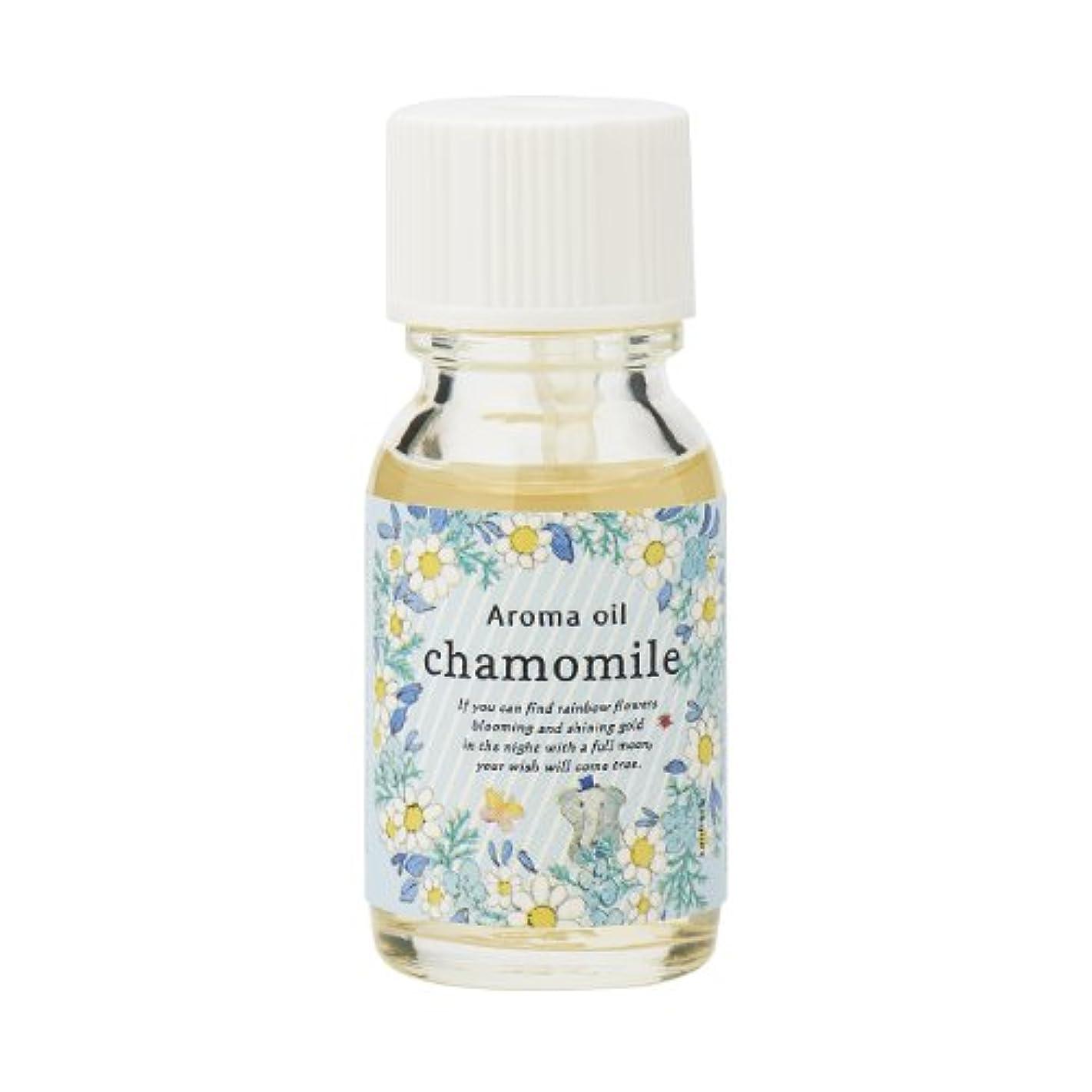 散らすオールほめるサンハーブ アロマオイル カモマイル 13ml(やさしく穏やかな甘い香り)