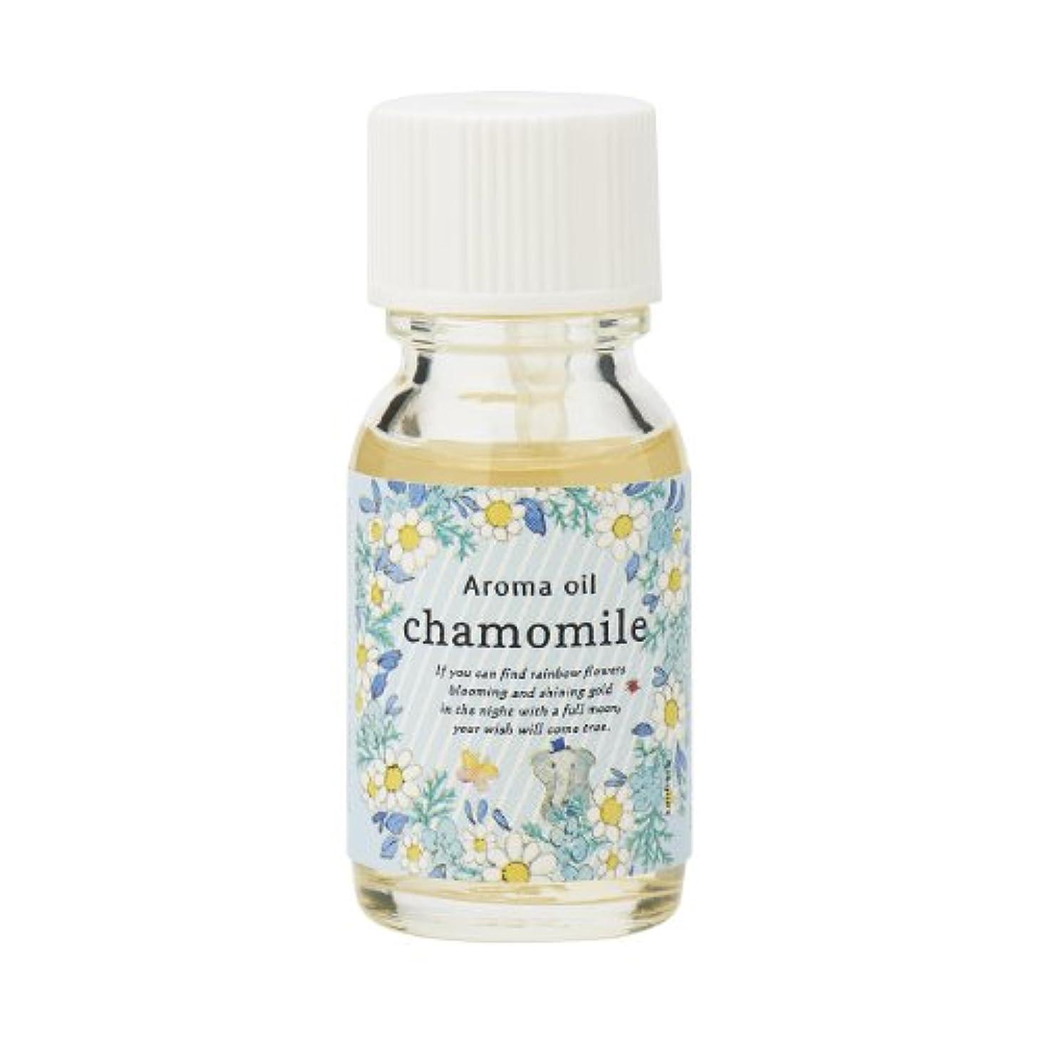 ハム宮殿礼儀サンハーブ アロマオイル カモマイル 13ml(やさしく穏やかな甘い香り)