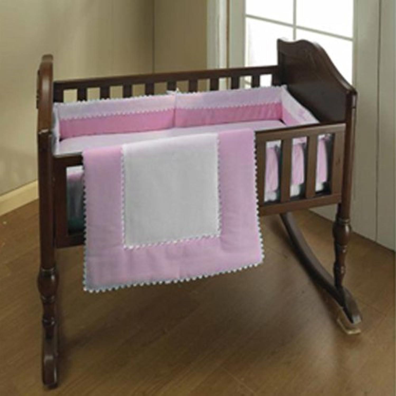 Baby Doll Bedding Ric Rac Mini Crib/ Port-a-Crib Set, Pink by BabyDoll Bedding