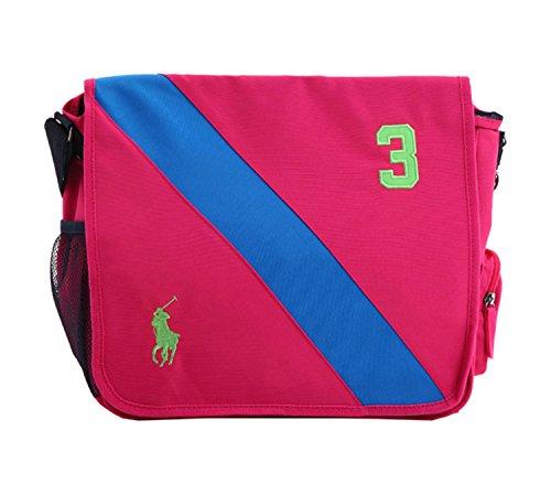 (ポロ ラルフローレン) POLO RALPH LAUREN リュックサック Banner Stripe 2 Backpack フューシャ 950093A MD