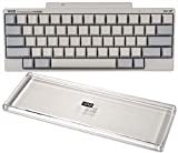 PFU HHKB Professional HYBRID Type-S 無刻印/白(英語配列)、キーボードルーフ(クリアー)付 PD-KB800WNS-KBRFHHC