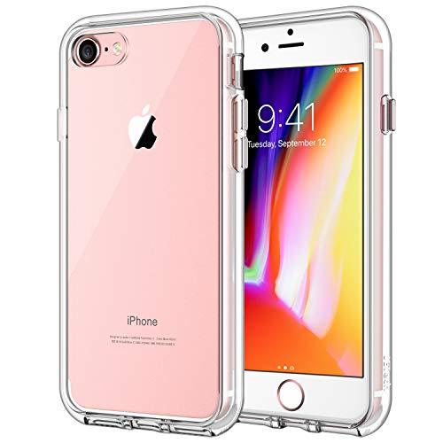 JEDirect iPhone7 iPhone8 ケース バンパー 衝撃吸収 傷つけ防止 (クリア)