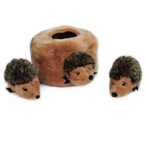Zippy Paws ZP053 Zippy Burrow - Hedgehog Den, Interactive Toys