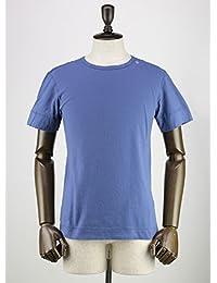 SWEEP!! スウィープ!! メンズ コットン 半袖 クルーネック Tシャツ Crew Marine (ブルー)