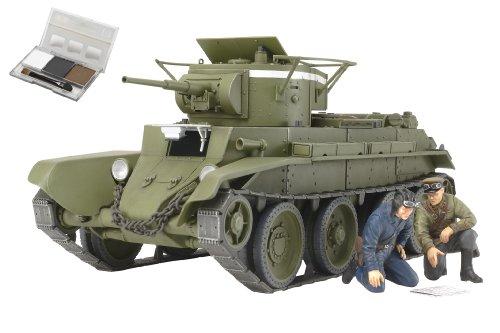 スケール限定シリーズ 1/35 ソビエト戦車 BT-7 1935年型 (ウェザリングマスター付き) 25124