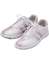 (ABS) ボウリングシューズ S-380 ホワイト?ピンク 【ボウリング用品 靴】