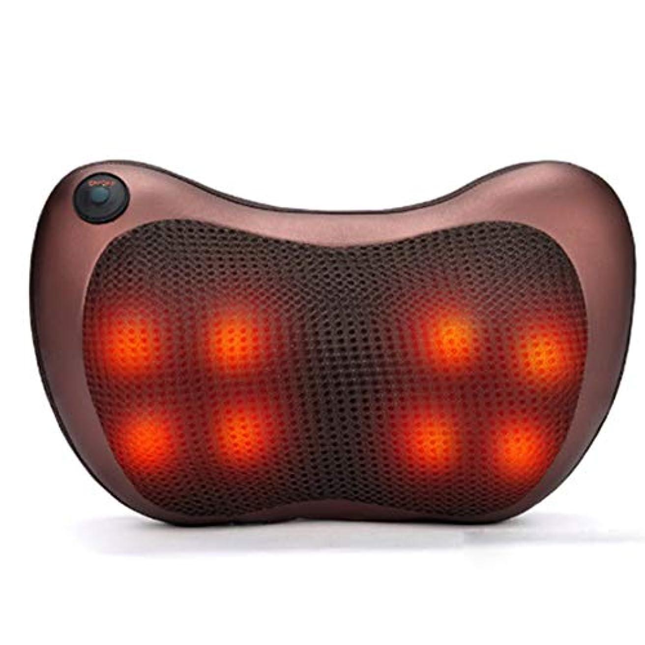 教室認めるあごひげIntercorey車載家庭用頸部マッサージ全身多機能低電圧暖房マッサージ枕